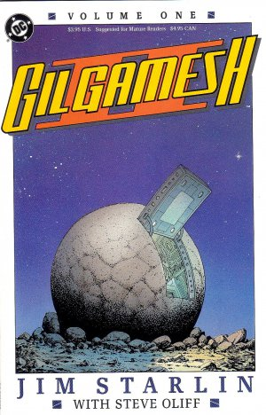 Complete Comics Set Gilgamesh #1-4 Jim Starlin Steve Oliff DC Comics - NEW