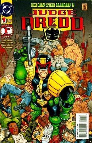 Judge Dredd Issue #1 - Michael Avon Oeming DC Comics 1994