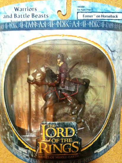 Lord of the Rings Warriors and Battle Beasts - Eomer on Horseback