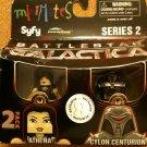 Battlestar Galactica MiniMates Athena and Cylon Centurion