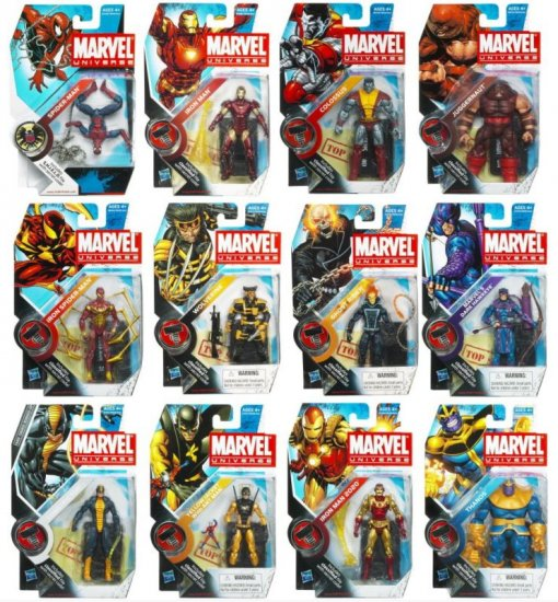 Factory Sealed Marvel Universe 2010 Wave 6 Box