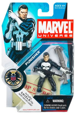 Marvel Universe Punisher [White Gloves] - Never reprinted
