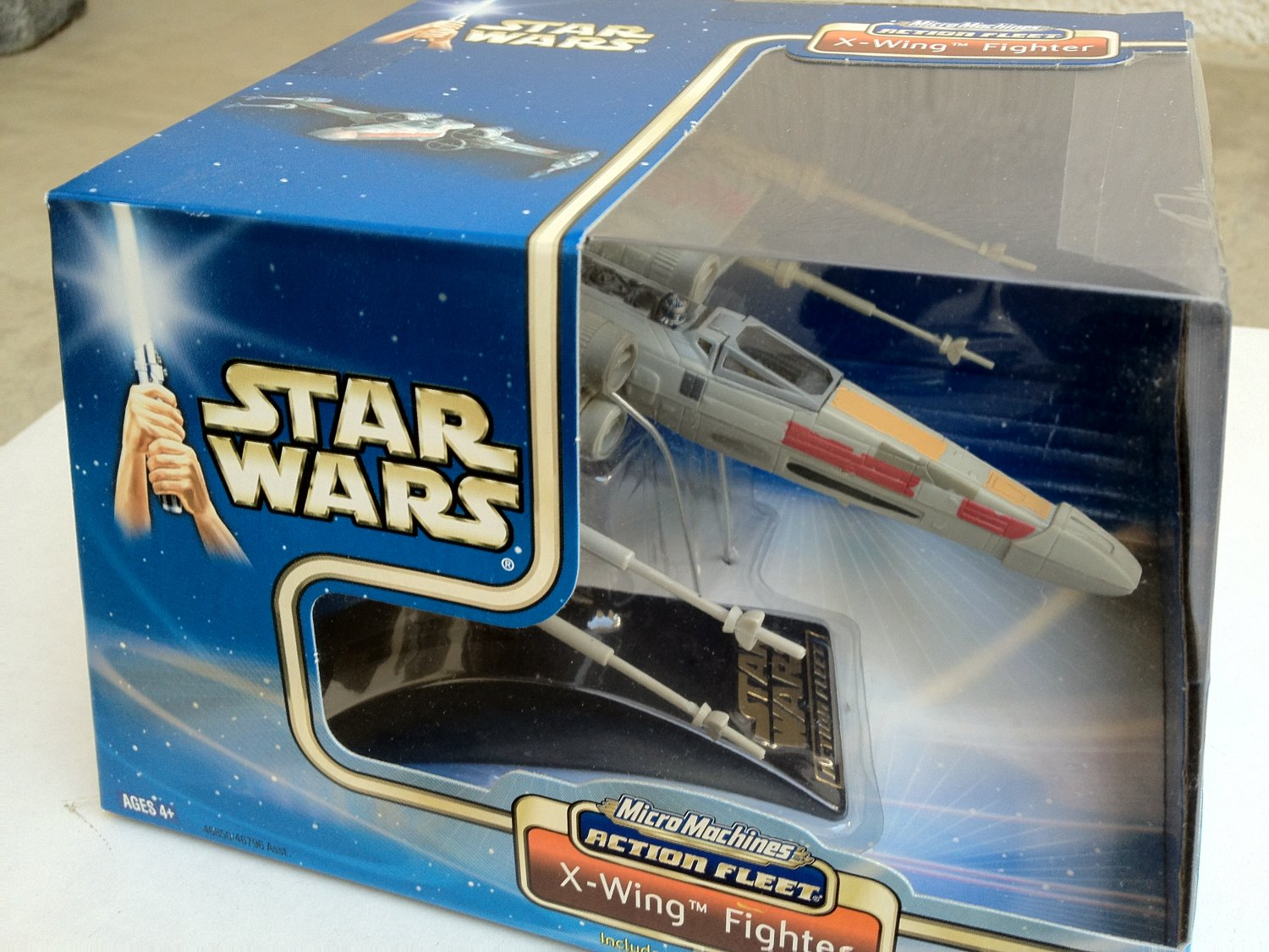Star Wars MicroMachines Action Fleet X-Wing Fighter