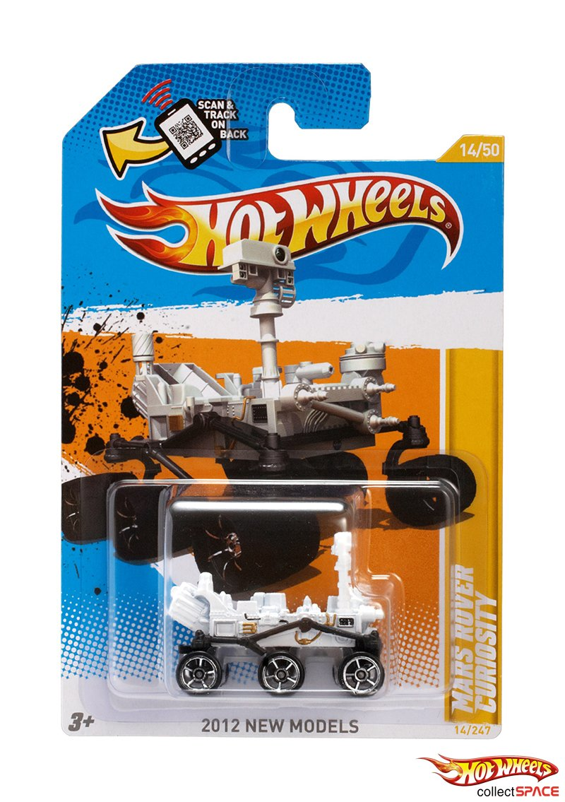 Hot Wheels Mars Rover Curiosity