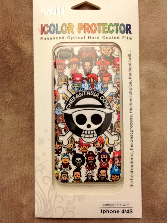 iPhone 4/4s iwill icolor protector (Chefantasia.com)