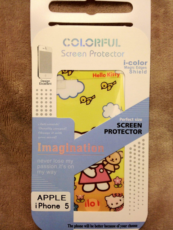 iPhone 5 i-color magic edges shield (Hello Kitty)