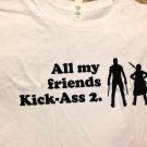 SDCC 2013 Exclusive Kick-Ass 2 T-Shirt - Large