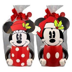 Disney Mickey and Mini Mug set with cocoa mix