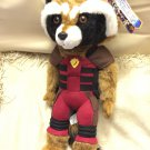 "SDCC 2014 Marvel Exclusive Guardians of the Galaxy Rocket Raccoon 15"" plush variant - RARE"