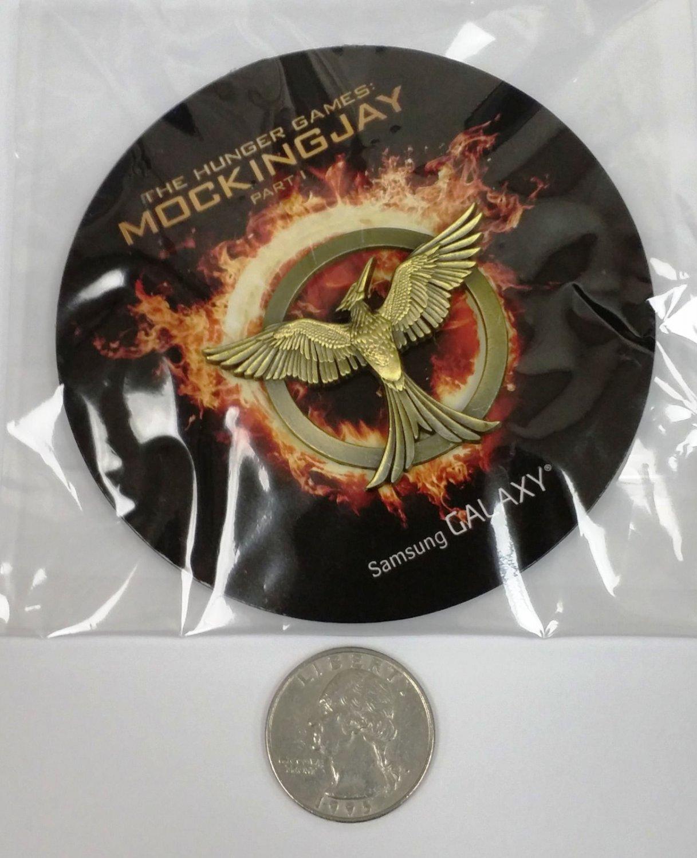 SDCC 2014 Hunger Games MOCKINGJAY PIN