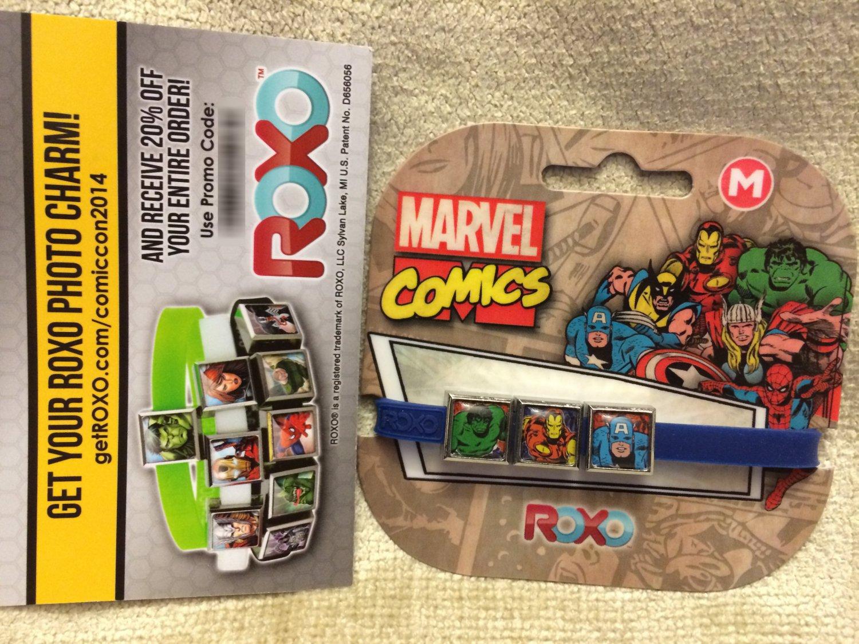 SDCC 2014 Marvel ROXO Retro Charm Bracelet