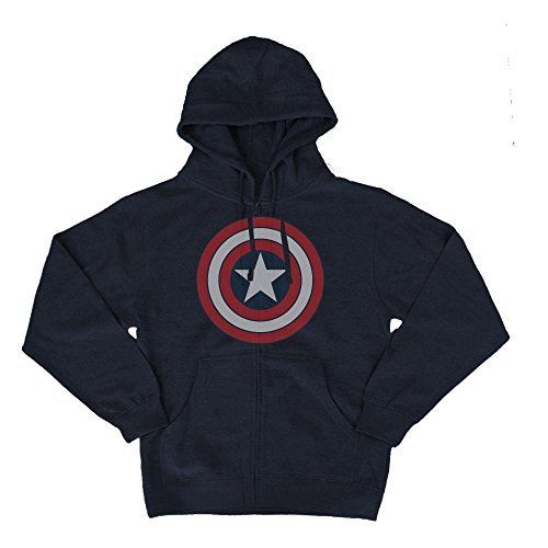 Mighty Fine Captain America Hoodie