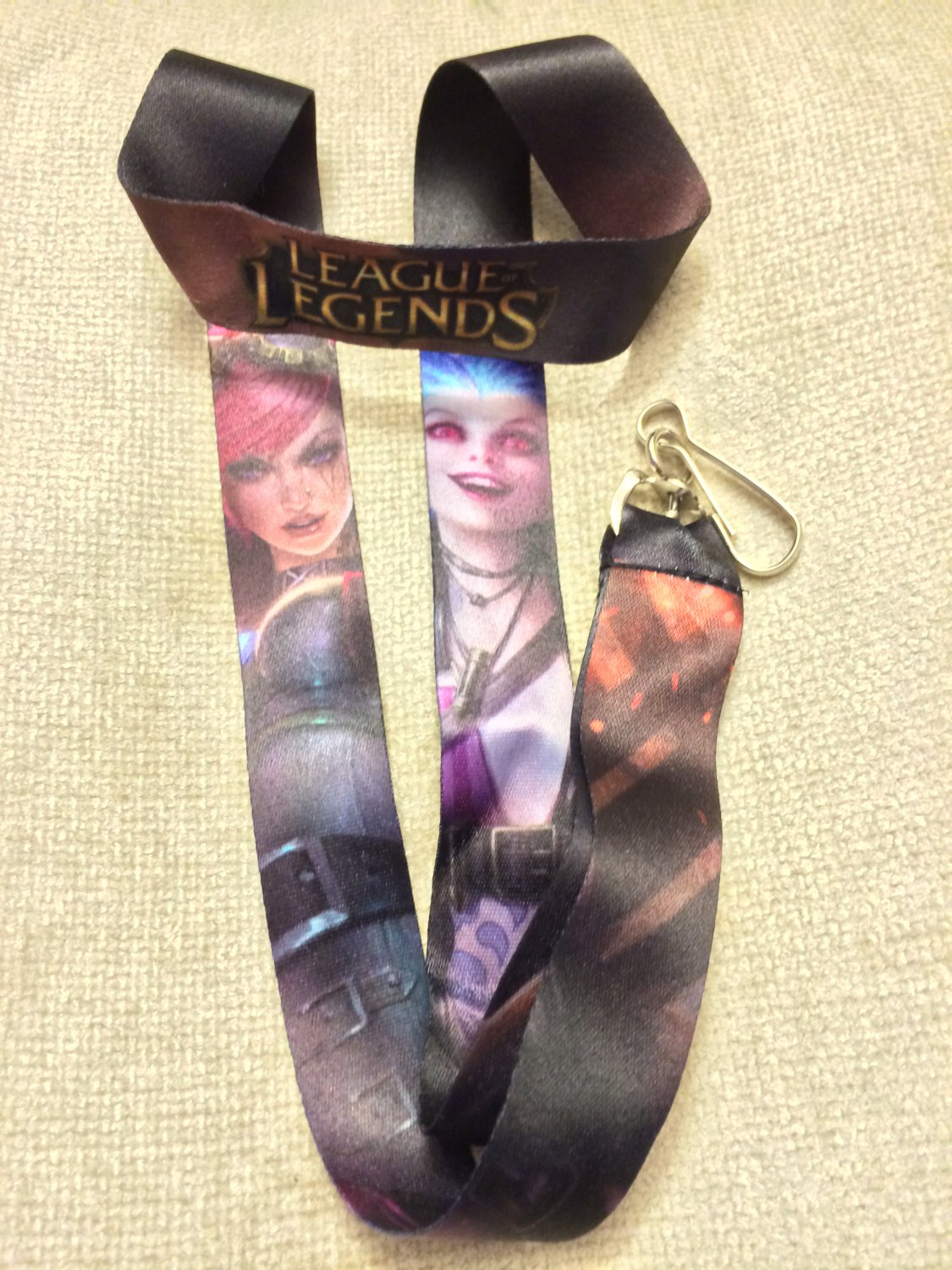 Comikase 2014 League of Legends Lanyard