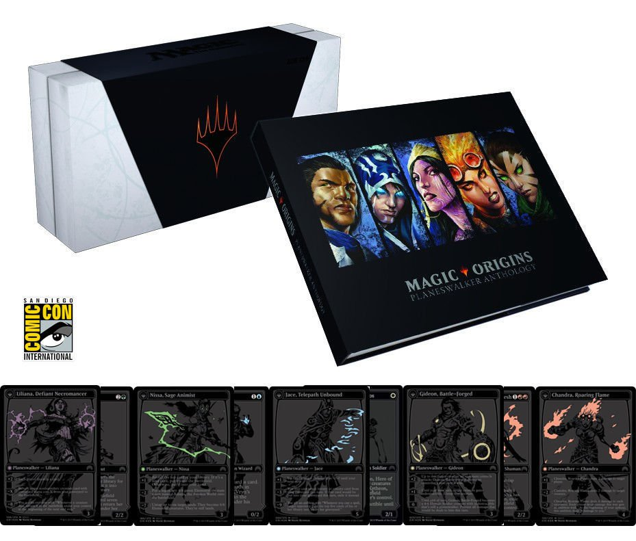 SDCC 2015 Hasbro Wizards of the Coast Exclusive: Magic the Gathering Planeswalkers
