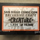 SDCC 2015 Exclusive Lootcrate creature crate