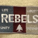 SDCC 2015 Exclusive Rebels Life Liberty Unity Defense Patch