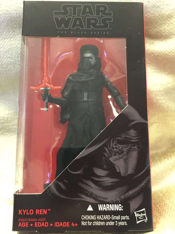 Kylo Ren - Star Wars The Black Series 6 inch figure
