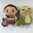 SDCC 2016 Hallmark Exclusive Princess Leia and Jabba the Hutt itty bittys® plush