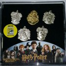 SDCC 2016 Monogram Exclusive Harry Potter Hogwarts House Crest 5 Piece Lapel Pin Set