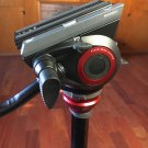 Manfrotto MVH500AH Fluid Head & 755XB Video Tripod