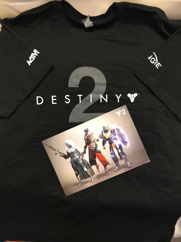 E3 2017 - Destiny 2 T-shirt
