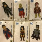 SDCC 2017 Exclusive DC Justice League Pin Complete Set (All 6)