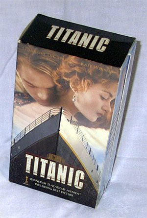 """TITANIC VHS """"DOUBLE SET""""  Brand New in Package!"""