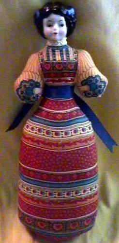 1981 Avon American Heirloom Lavender Pomander Doll
