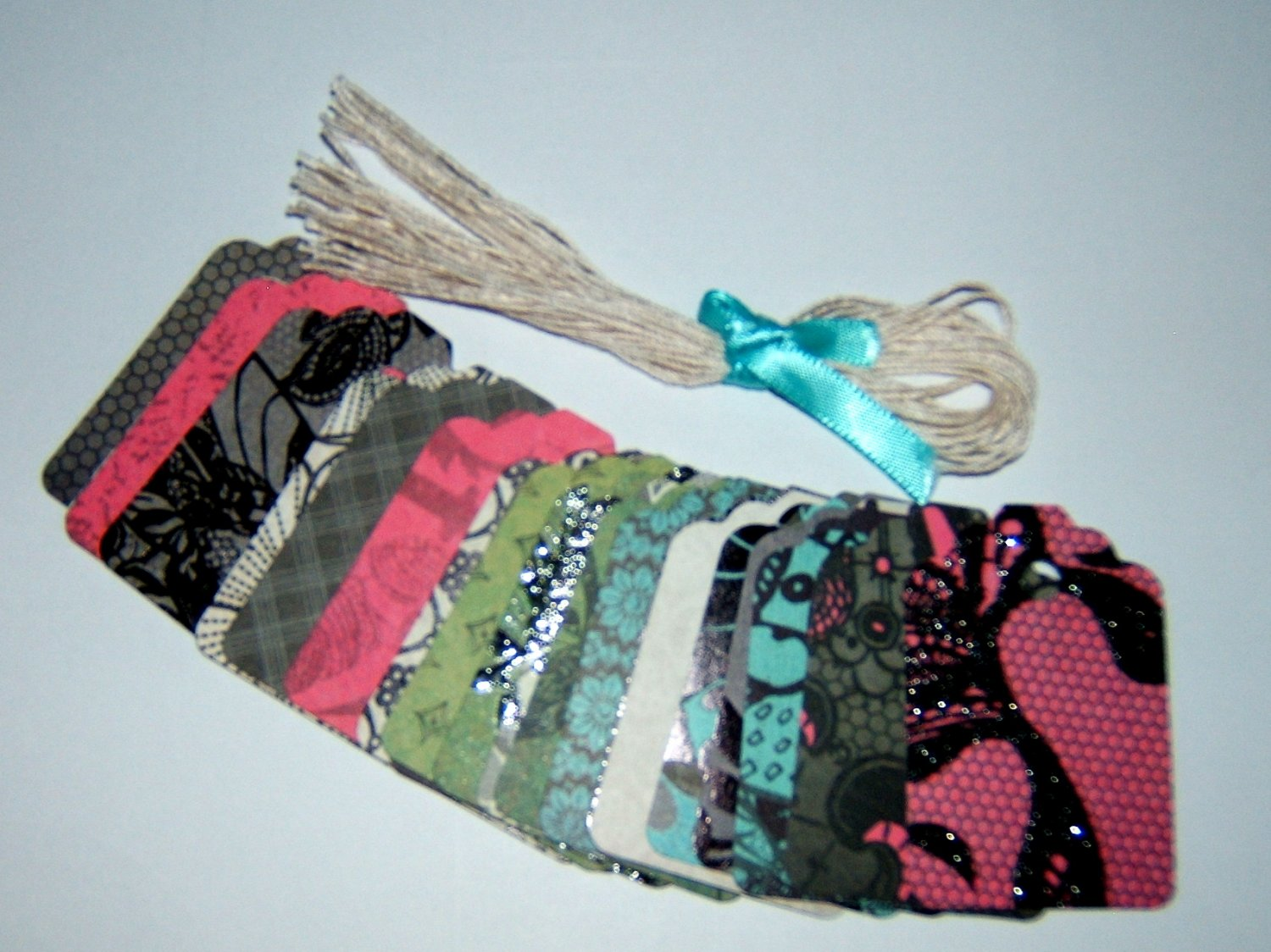 Gift Tag set-Street Lace - Qty 22