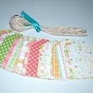 Gift Tag set- Nanas Nursery Baby Girl - Qty 24