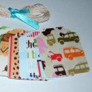 Gift Tag set- Safari Kids - Qty 24