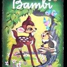 Walt Disney's Bambi Giant Golden Book 1980 HC Thumper