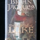The Legend of Luke Redwall Jacques 1st American Edition
