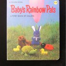 Baby's Rainbow Pals First Book of Colors Golden Board