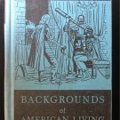 Backgrounds of American Living Speer Vintage History HC