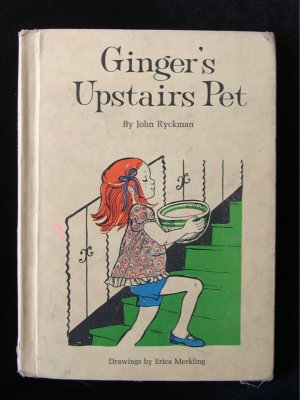 Ginger's Upstairs Pet Ryckman Merkling Vintage Giraffe