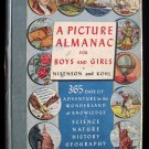 A Picture Almanac for Boys and Girls Nisenson Kohl HC