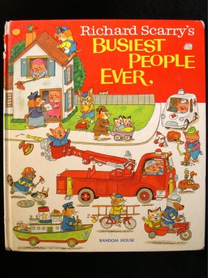 Richard Scarry's Busiest People Ever Picture Dictionary