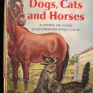 The Giant Golden Book Dogs Cats and Horses Rojankovsky