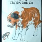 The Big Dog and the Very Little Cat Saint Bernard HCDJ