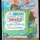 The Zoo That Moved Miklowitz Don Madden Vintage HC 1968