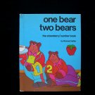 One Bear Two Bears Strawberry Number Book Hefter HC