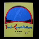 Find the Constellations H.A. Rey Softcover Stars Space