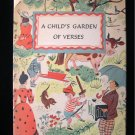 A Child's Garden of Verses Roger Duvoisin Vintage 1944