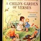 A Child's Garden of Verses Boswell Stevenson Vintage HC
