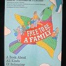 Free to Be a Family Marlo Thomas and Friends HCDJ 1987