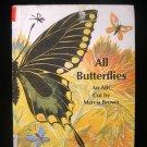 All Butterflies ABC Cut Marcia Brown Alphabet Vintage