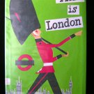 This is London Miroslav Sasek Vintage HCDJ 1970 Travel