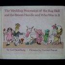 Wedding Procession of the Rag Doll Broom Handle Vintage