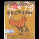 Andy and the Wild Worm Jane Thayer Darwin Vintage HCDJ